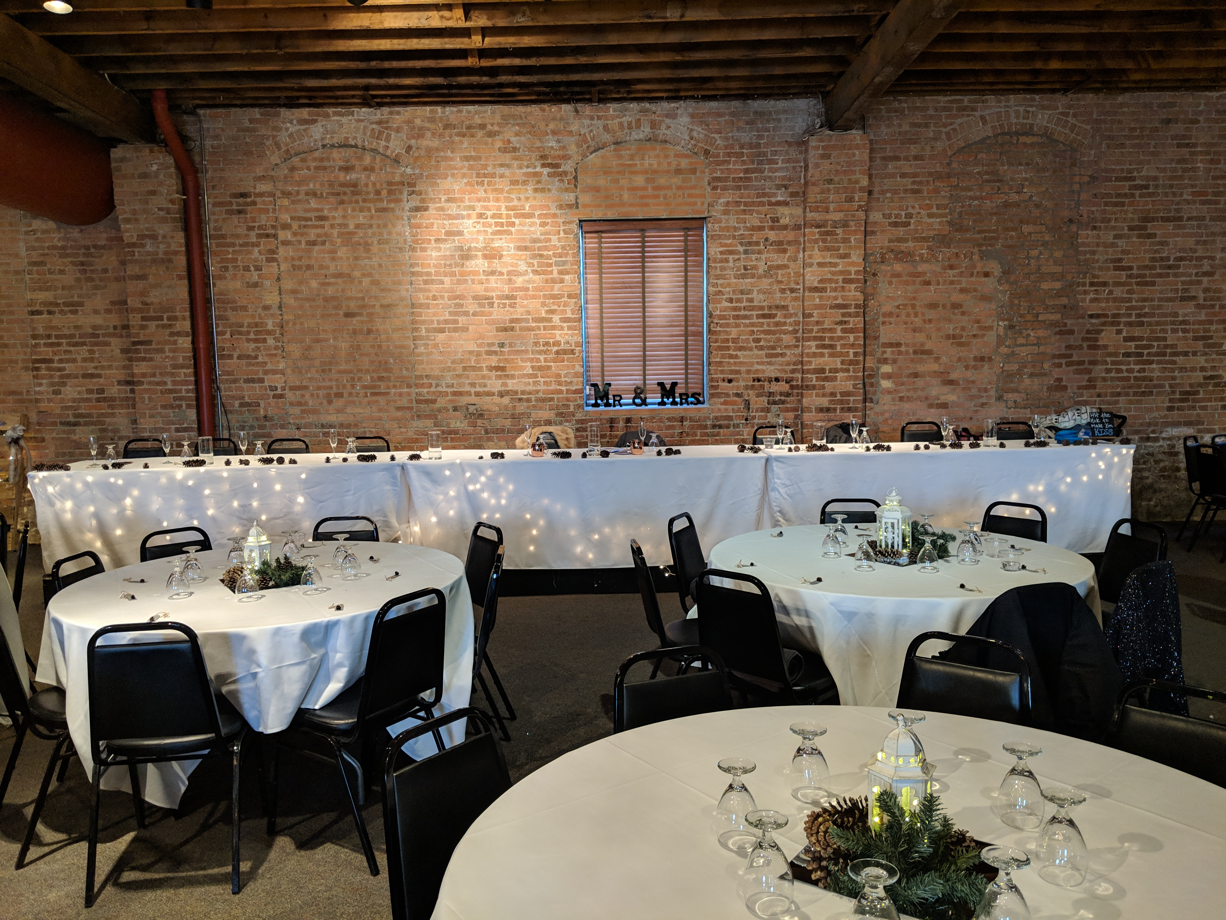 baraboo arts center head table